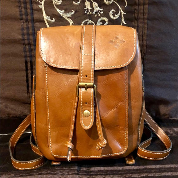 8007e7067b8c1b Patricia Nash Bags | Nwot Auth Aberdeen Leather Backpack | Poshmark